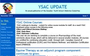 YSAC Update newsletter2013-1