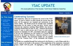 YSAC_Update_newxsletter2007 copy